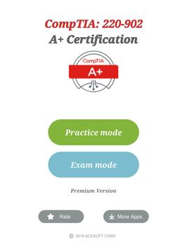 CompTIA A+: 220-902 Exam  (expired on 7/31/2019) screenshot 6