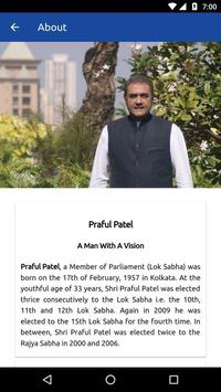 Praful Patel screenshot 1