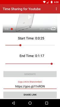 Time Sharing for Youtube apk screenshot