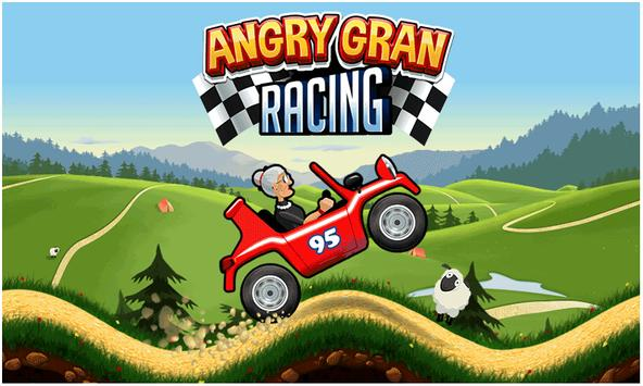 Angry Gran Racing poster