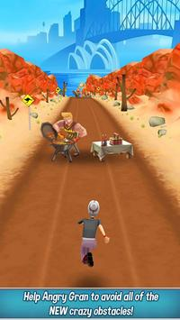 Angry Gran Run - Running Game apk screenshot