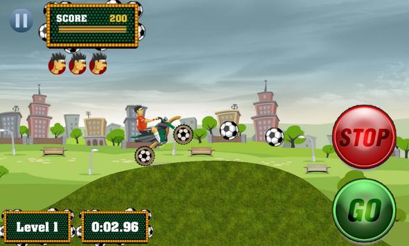 Football Rider Dirt Bike 3D apk screenshot