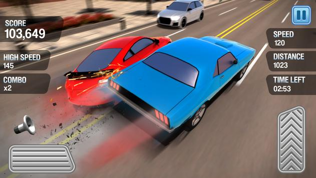 Traffic Racing - How fast can you drive? apk screenshot