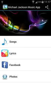 Michael Jackson Music App poster
