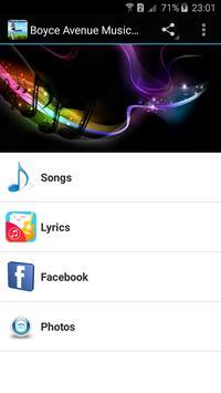 Boyce Avenue Music App poster