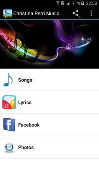 Christina Perri Music App poster