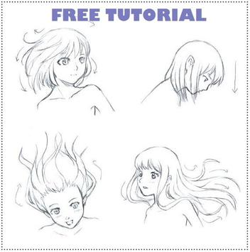 Learn How to Draw Manga Tutorial poster