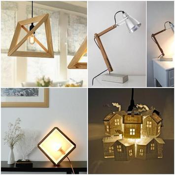 DIY Unique Lighting Lamp Handmade poster