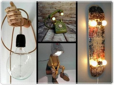 DIY Unique Lighting Lamp Handmade screenshot 4