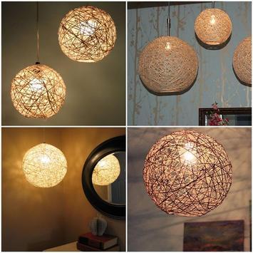 DIY Unique Lighting Lamp Handmade screenshot 8