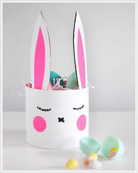 Handmade Easter Bunny Home Decor apk screenshot