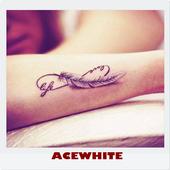 Famous Girl Tattoo Design icon