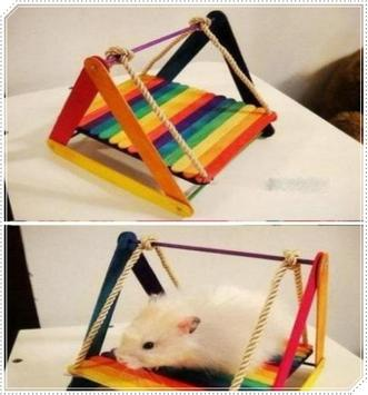 Creative Hamster Popsicle Craft screenshot 6