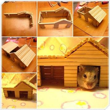 Creative Hamster Popsicle Craft screenshot 1