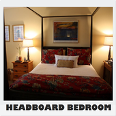 Unique Headboard Bedroom Design icon