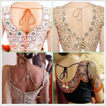 Indian Saree Blouse Design Idea poster
