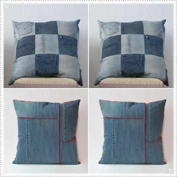 Recycled Denim Jeans Craft poster