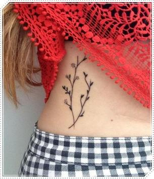 Girly Plant Tattoo Idea for Woman screenshot 11