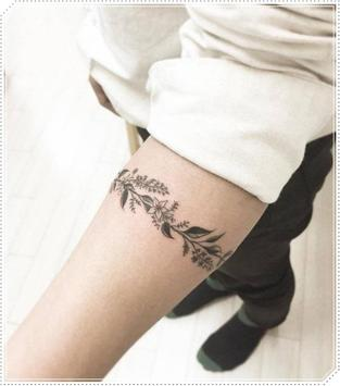 Girly Plant Tattoo Idea for Woman apk screenshot