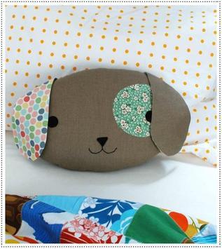 DIY Colorful Pillow Pattern Design poster