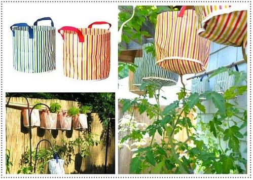 Decorative Handmade Planter Bag poster