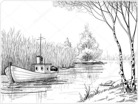 Learn How to Draw Natural Scenery screenshot 7