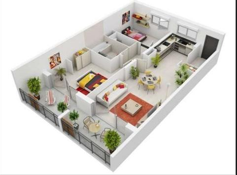 3D Small Home Design APK Download - Free Lifestyle APP for Android ...