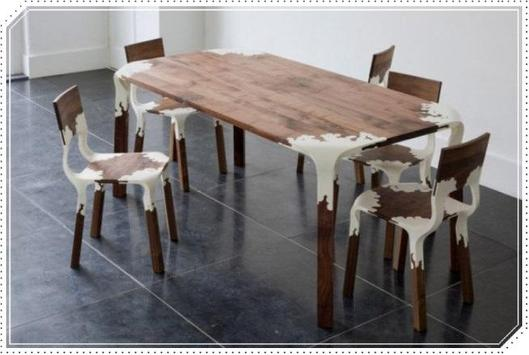 Unique Wooden Table for Dining Room screenshot 3