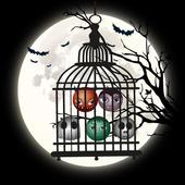 Scary Clown Halloween Town: Clown Halloween Party icon