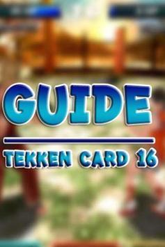 Guide Tekken Card 16 poster