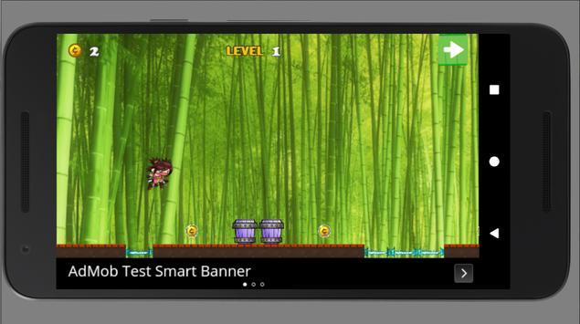 Ninja Girl Run Adventure screenshot 2