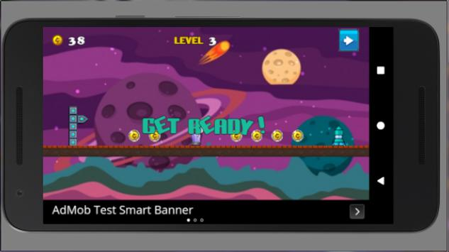 Alien Run Adventure apk screenshot