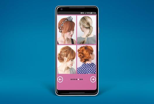 cute hairstyles step by step screenshot 4