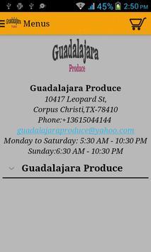 Guadalajara Produce poster
