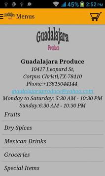 Guadalajara Produce apk screenshot