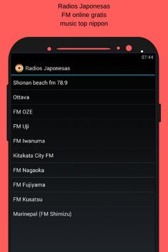 Radios Japonesas FM online gratis music top nippon screenshot 1