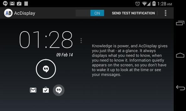 AcDisplay (Deprecated) apk screenshot