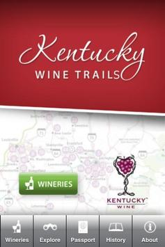 Kentucky Wine Trails poster