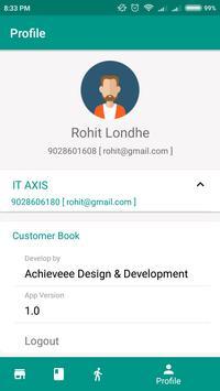 Customer Book screenshot 5