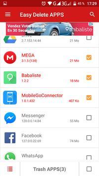 Easy Delete APPS apk screenshot