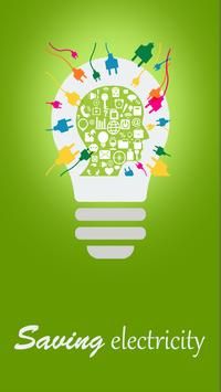 save electricity and money poster