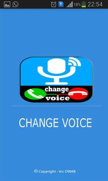 voice call changer poster