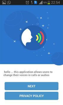 voice call changer screenshot 1