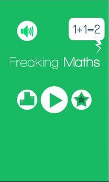 Freaking Maths poster