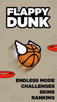 Flappy Dunk apk imagem de tela
