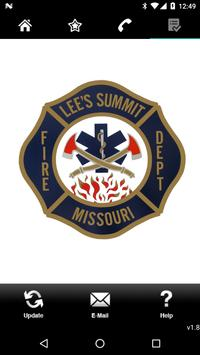 Lee's Summit Fire Department poster