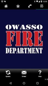 Owasso Fire Department poster