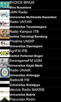 Ngampus Radio apk screenshot