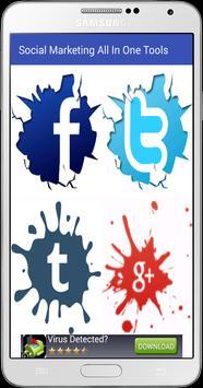Social Marketing AIO Tools apk screenshot