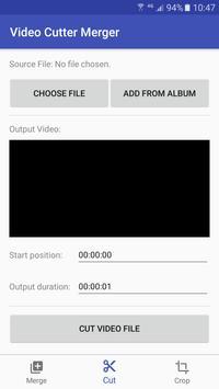 Video Cutter Merger screenshot 1